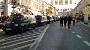 Nowy Świat: tu były pierwsze starcia z policją