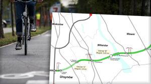 Będzie droga rowerowa na całej Południowej Obwodnicy Warszawy