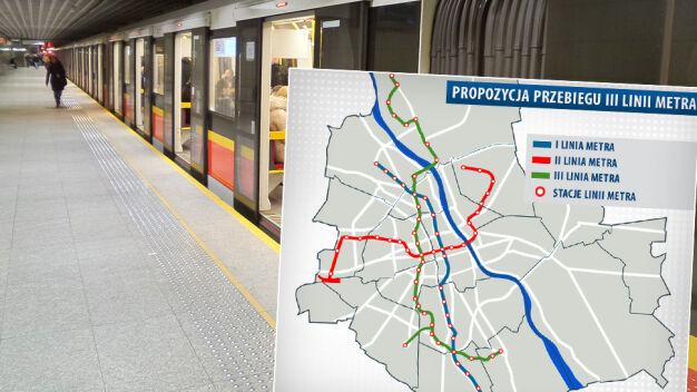 III linia metra: z Białołęki na Wilanów przez Mordor?