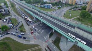 Most Północny: tramwaje zyskały, samochody utknęły w korkach