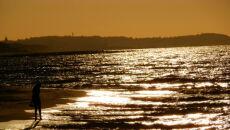 Zachód słońca nad Bałtykiem (Kontakt Meteo/Monika Szulak)