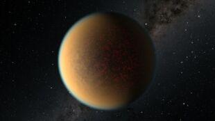 Niezwykła metamorfoza egzoplanety. Ma wtórną atmosferę, która jest jak smog