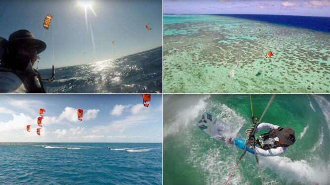 Z rekinami, w palącym słońcu. 1200 km na kitesurfingu