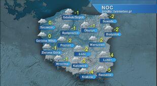 Prognoza pogody na noc 30.11/1.12
