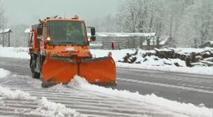 W Słowenii zaatakowała zima